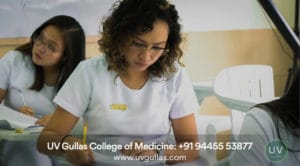 uv gullas college of medicine girls in classroom