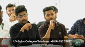 uv gullas college of medicine students in classroom